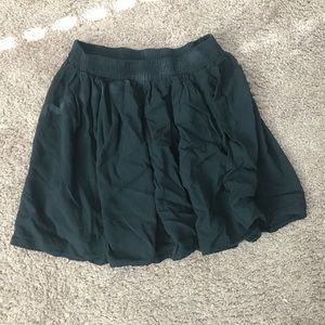 Brandy Melville Women's Solid Black Mini Skirt